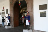 entrance to Presidential Palace