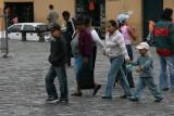 quiteños at Plaza San Francisco