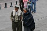 cute old Ecuadorian couple