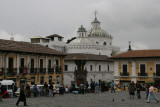 view from Plaza San Francisco towards La Compañia de Jesus