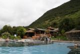 Papallacta thermal baths at an altitude of 3300 meters