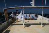 excited about our boat Monserrat and the whole week of paradise ahead