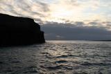 sunset in Galapagos