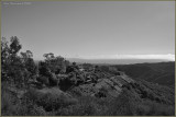 A Date With Beauty ~ The Bay That Day ~ With Catalina Island Center B&W