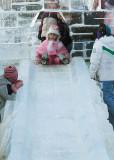 Ice slide fright - Don