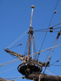 At the bow of the Batavia by Geophoto