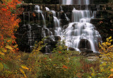 Chittenango Falls in Autumn