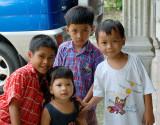 Jaya, Dika, Sodik and Rizki - December 2006