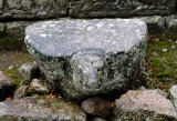 Cetho Temple - flat topped turtle