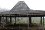 Cetho Temple - Rain
