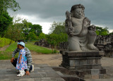 Candi Sewu (Temple) at Prambanan in Central Java