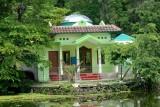 Green mesjid - mosque