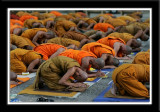 Wat Khanon Monks
