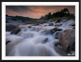 Evening Waterfall