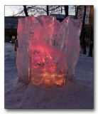 Ice sculpture from Østersund