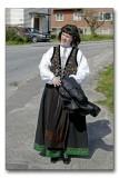 Rebekka in her new national costume