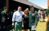 Andrew's graduation with green beret-
