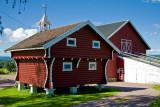 Little agricultural annexes of a regular country house, near Hønefoss