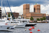 Oslo - Stranden - View of the City Hall