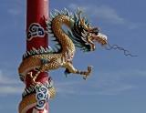 Guardian dragon, architectural detail