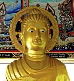 Golden image of the Buddha