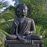 Image of the seated Buddha