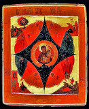 Burning bush icon, Russia, 18th century