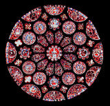 Rose window, Chartres Cathedral, France