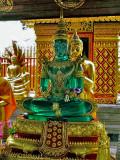 Green Buddha image