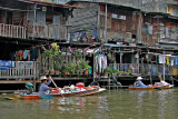 Vendors in boats