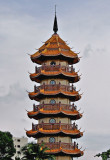 Chinese pagoda, close up