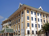 Lao National Cultural Hall, back corner