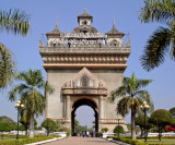 Patuxay  or Victory Gate, front