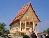 Ordination Hall (Sim) next to Pha That Luang