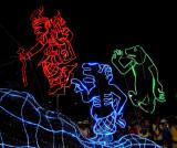Electric Parade: three figures
