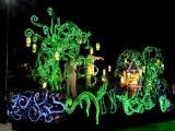 Electric parade: greenery