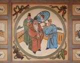 Chinese temple fresco
