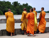 Monks at the river