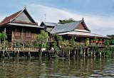 Pair of teak houses
