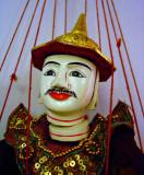 Burmese marionette