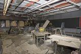 NLSS law classroom fire damage