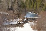 Store Creek dam April 20 2007