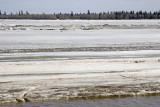 Across the ice to Charles Island from Moosonee