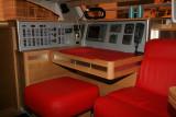 Catana 50, du chantier Catana, catamaran de 15 m de long équippé d'accastillage Harken