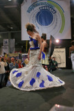 Défilé de mode Voiles et voilages au Salon Nautique de Paris