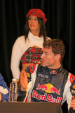 David Coulthard at the press conference