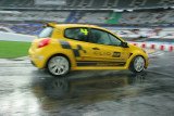 Aboard the new Clio Cup Renault on the Race of Champions track