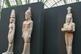 Statues colossales d'un couple royal, et de Hâpy le dieu du Nil, d'une hauteur de 5 mètres