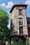 Découverte des vieux quartiers de la ville de Troyes avec leurs maisons à colombages