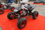 Vérifications des quads et des motos avant  L'Enduropale 2007